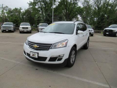 2016 Chevrolet Traverse for sale at Aztec Motors in Des Moines IA