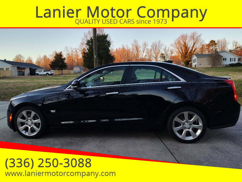 2016 Cadillac ATS for sale at Lanier Motor Company in Lexington NC