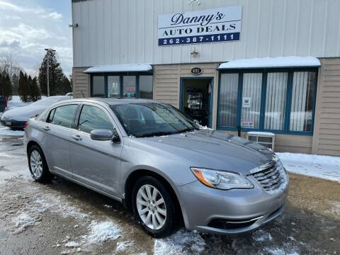 2013 Chrysler 200 for sale at Danny's Auto Deals in Grafton WI