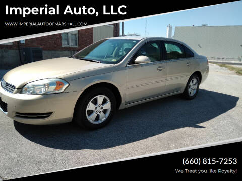 2008 Chevrolet Impala for sale at Imperial Auto, LLC in Marshall MO