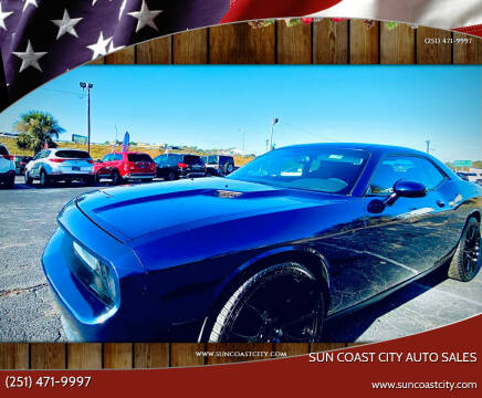 2014 Dodge Challenger for sale at Sun Coast City Auto Sales in Mobile AL