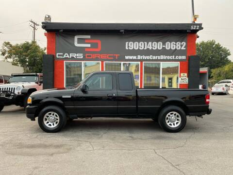 2010 Ford Ranger for sale at Cars Direct in Ontario CA
