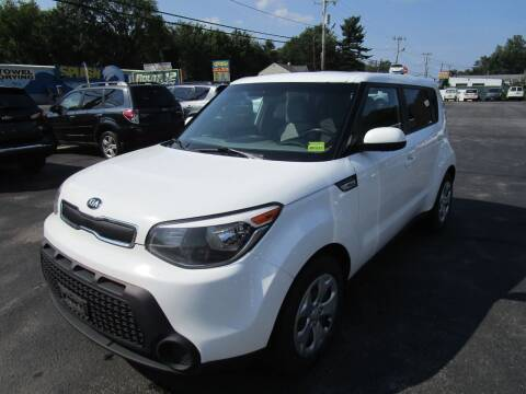 2014 Kia Soul for sale at Route 12 Auto Sales in Leominster MA
