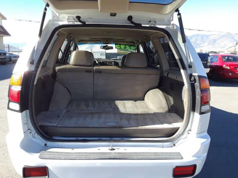 2000 Mitsubishi Montero Sport 4dr Limited 4WD SUV - Carson City NV