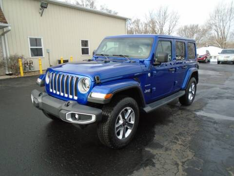 2019 Jeep Wrangler Unlimited for sale at Ritchie Auto Sales in Middlebury IN