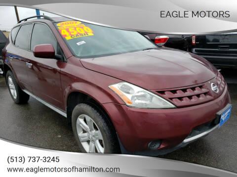 2007 Nissan Murano for sale at Eagle Motors in Hamilton OH