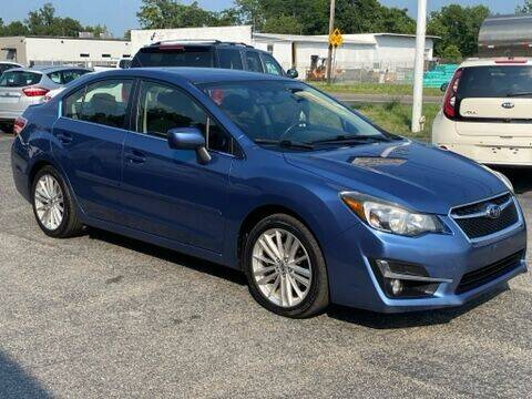 2012 Subaru Impreza for sale at MetroWest Auto Sales in Worcester MA