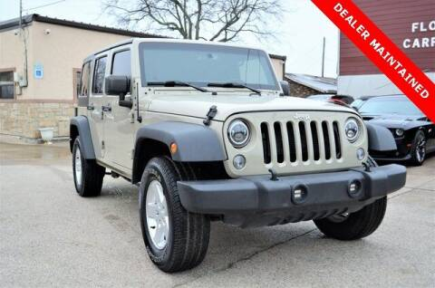 2018 Jeep Wrangler JK Unlimited for sale at LAKESIDE MOTORS, INC. in Sachse TX