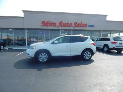 2012 Nissan Murano for sale at Mira Auto Sales in Dayton OH