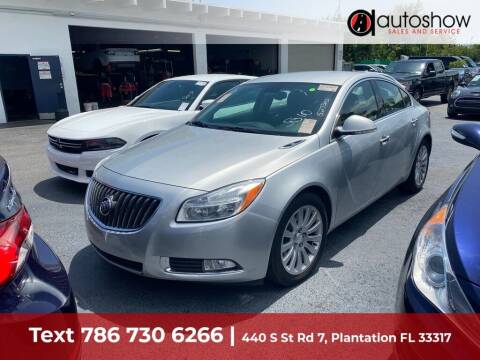 2012 Buick Regal for sale at AUTOSHOW SALES & SERVICE in Plantation FL
