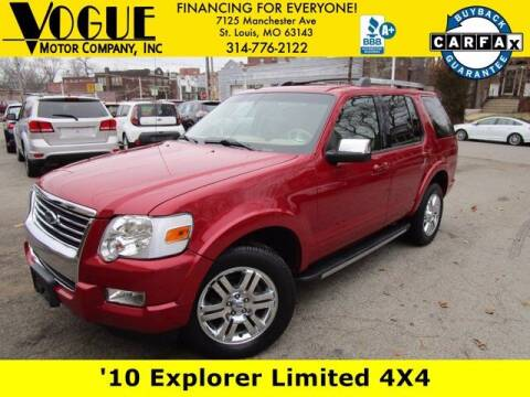 2010 Ford Explorer for sale at Vogue Motor Company Inc in Saint Louis MO