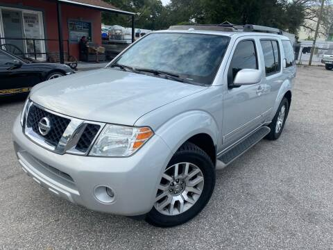 2012 Nissan Pathfinder for sale at CHECK  AUTO INC. in Tampa FL