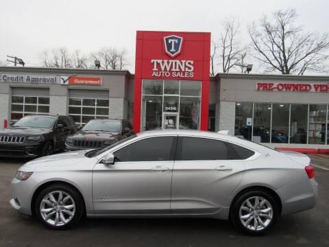 2018 Chevrolet Impala for sale at Twins Auto Sales Inc in Detroit MI
