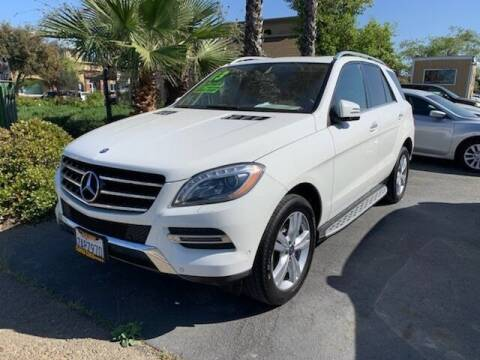 2013 Mercedes-Benz M-Class for sale at Contra Costa Auto Sales in Oakley CA