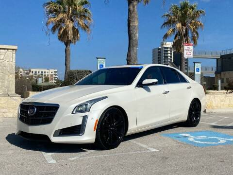 2014 Cadillac CTS for sale at Motorcars Group Management - Bud Johnson Motor Co in San Antonio TX