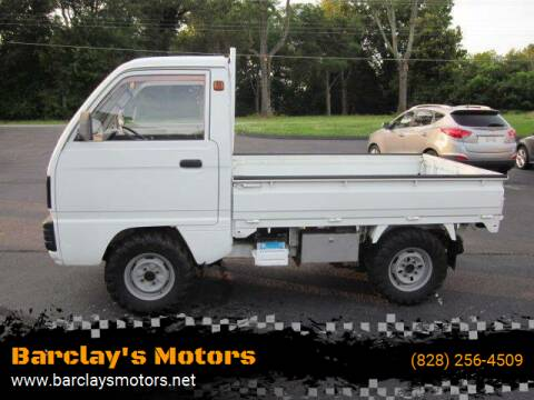 1994 Suzuki Carry 4X4 for sale at Barclay's Motors in Conover NC