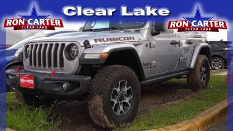 2018 Jeep Wrangler Unlimited for sale at Ron Carter  Clear Lake Used Cars in Houston TX