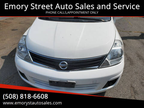 2012 Nissan Versa for sale at Emory Street Auto Sales and Service in Attleboro MA