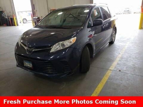 2018 Toyota Sienna for sale at Nyhus Family Sales in Perham MN