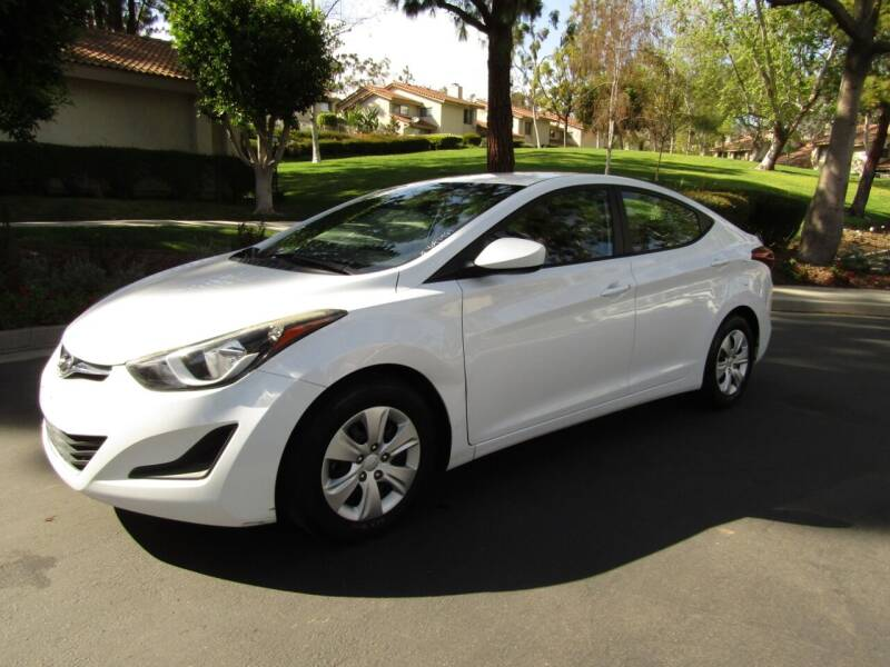 2016 Hyundai Elantra for sale at E MOTORCARS in Fullerton CA
