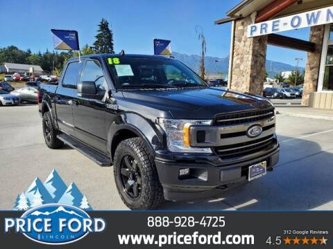 2018 Ford F-150 for sale at Price Ford Lincoln in Port Angeles WA