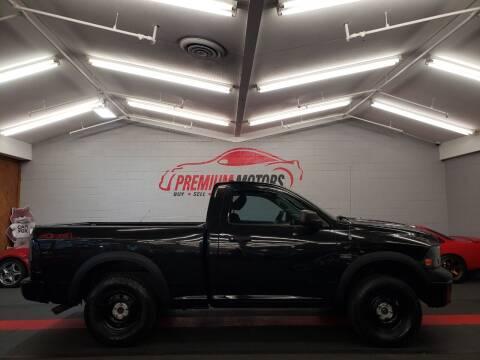 2010 Dodge Ram Pickup 1500 for sale at Premium Motors in Villa Park IL