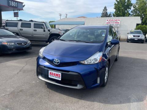 2015 Toyota Prius v for sale at Adams Auto Sales in Sacramento CA