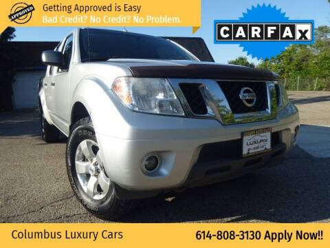 2012 Nissan Frontier for sale at Columbus Luxury Cars in Columbus OH