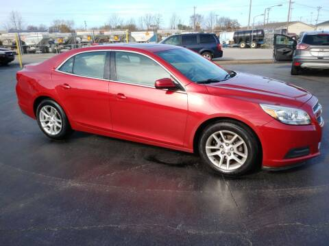 2013 Chevrolet Malibu for sale at Big Boys Auto Sales in Russellville KY