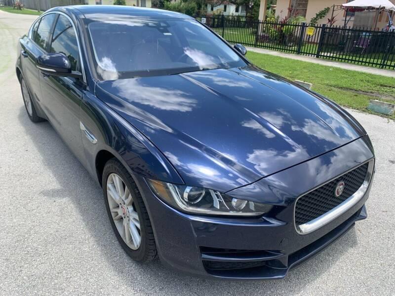2017 Jaguar XE for sale at Eden Cars Inc in Hollywood FL