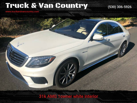 2014 Mercedes-Benz S-Class for sale at Truck & Van Country in Shingle Springs CA
