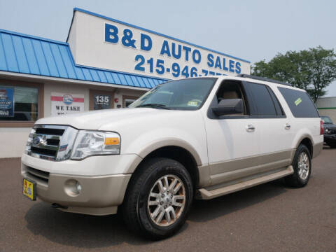2010 Ford Expedition EL for sale at B & D Auto Sales Inc. in Fairless Hills PA