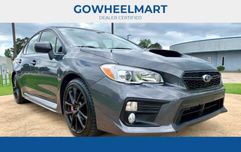 2020 Subaru WRX for sale at GOWHEELMART in Leesville LA
