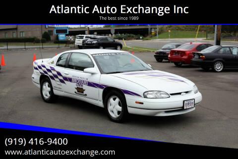 1995 Chevrolet Monte Carlo for sale at Atlantic Auto Exchange Inc in Durham NC