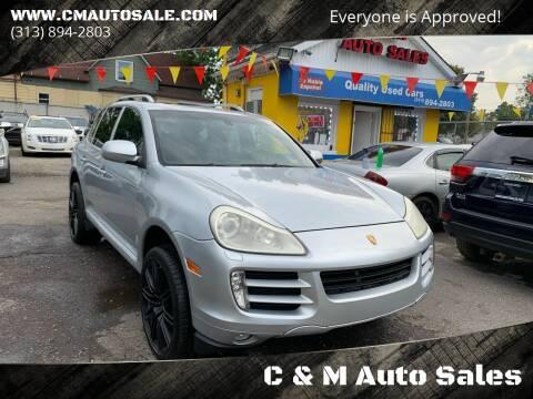 2008 Porsche Cayenne for sale at C & M Auto Sales in Detroit MI
