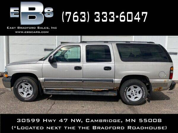 2004 Chevrolet Suburban for sale at East Bradford Sales, Inc in Cambridge MN