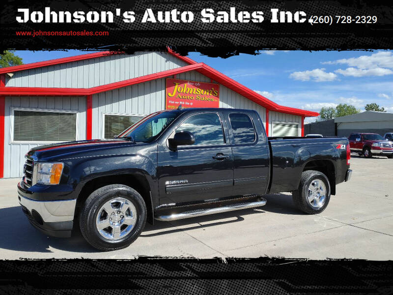 2012 GMC Sierra 1500 for sale at Johnson's Auto Sales Inc. in Decatur IN