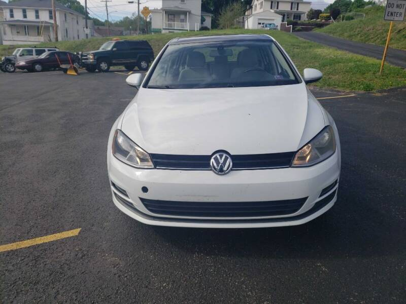 2015 Volkswagen Golf for sale at KANE AUTO SALES in Greensburg PA
