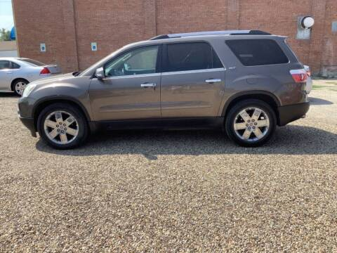 2010 GMC Acadia for sale at Paris Fisher Auto Sales Inc. in Chadron NE