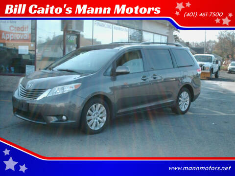 2012 Toyota Sienna for sale at Bill Caito's Mann Motors in Warwick RI