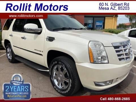 2007 Cadillac Escalade for sale at Rollit Motors in Mesa AZ