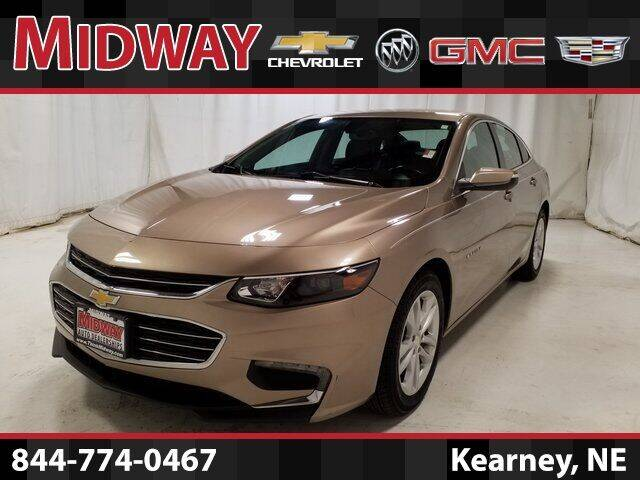 2018 Chevrolet Malibu for sale at Midway Auto Outlet in Kearney NE