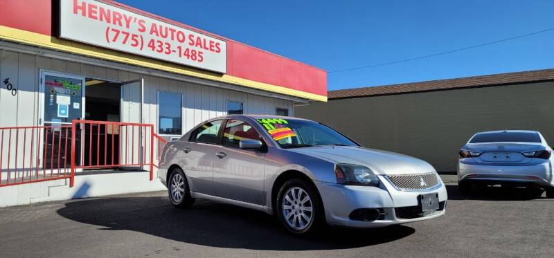 2011 Mitsubishi Galant for sale at Henry's Autosales, LLC in Reno NV
