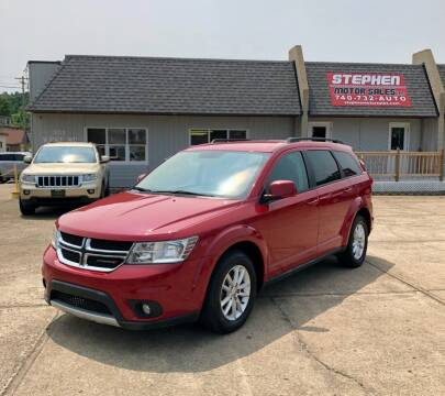 2016 Dodge Journey for sale at Stephen Motor Sales LLC in Caldwell OH
