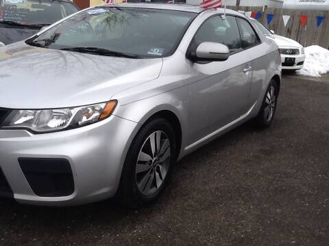 2013 Kia Forte Koup for sale at Lance Motors in Monroe Township NJ