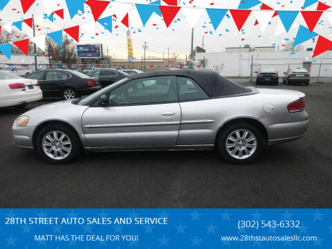 2006 Chrysler Sebring for sale at 28TH STREET AUTO SALES AND SERVICE in Wilmington DE