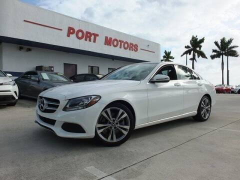 2017 Mercedes-Benz C-Class for sale at Automotive Credit Union Services in West Palm Beach FL