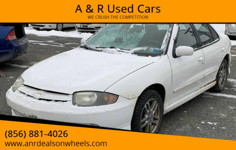 2004 Chevrolet Cavalier for sale at A & R Used Cars in Clayton NJ