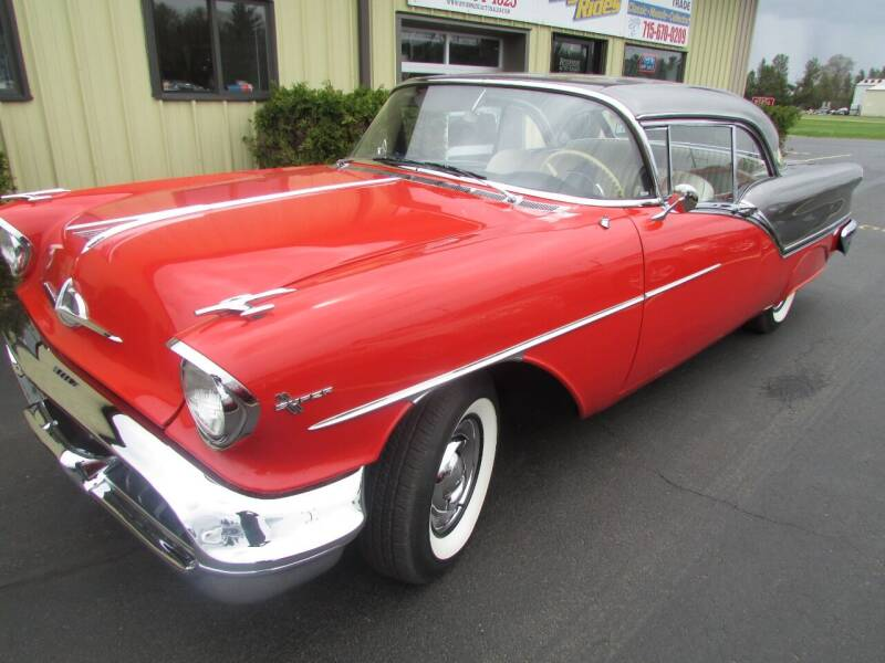 1957 Oldsmobile Super 88 for sale at Toybox Rides in Black River Falls WI