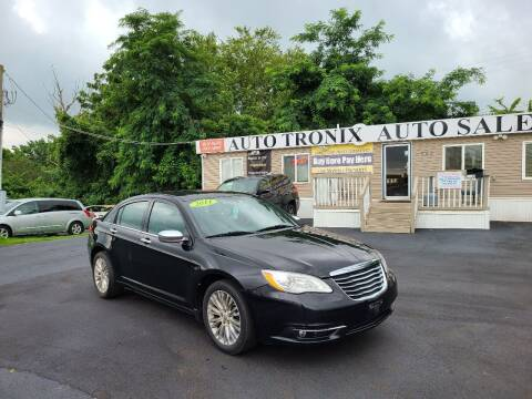 2011 Chrysler 200 for sale at Auto Tronix in Lexington KY